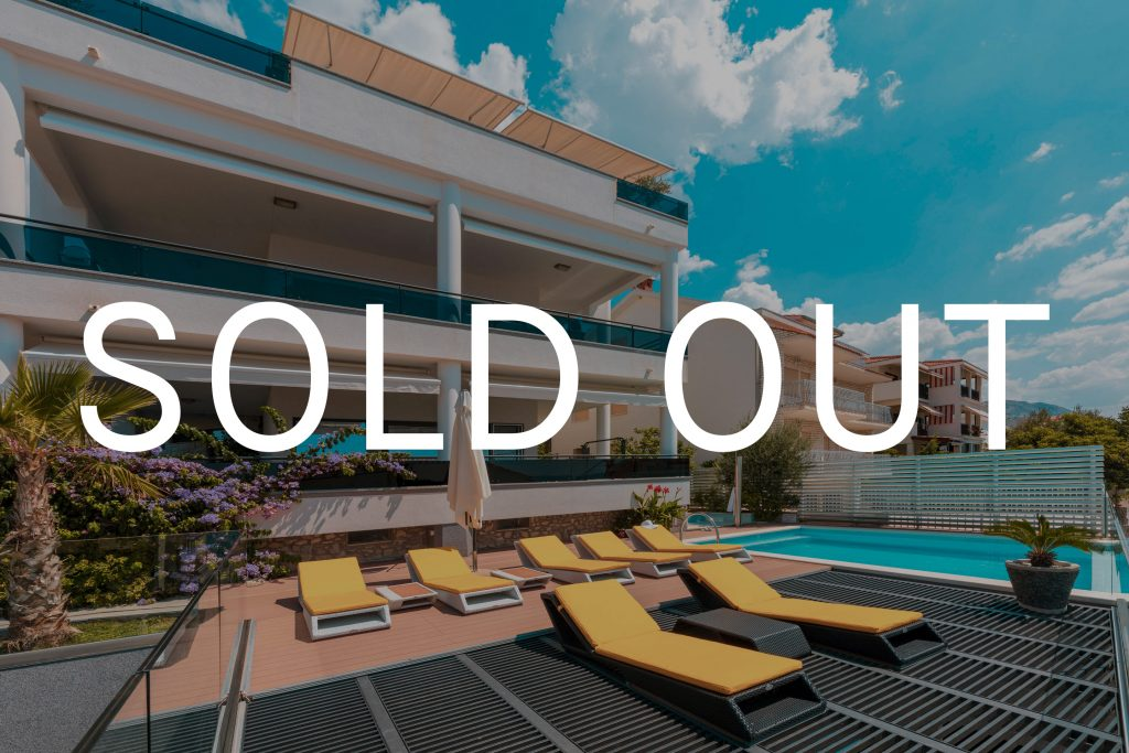 the villa week, main villa, swimming pool, sold out