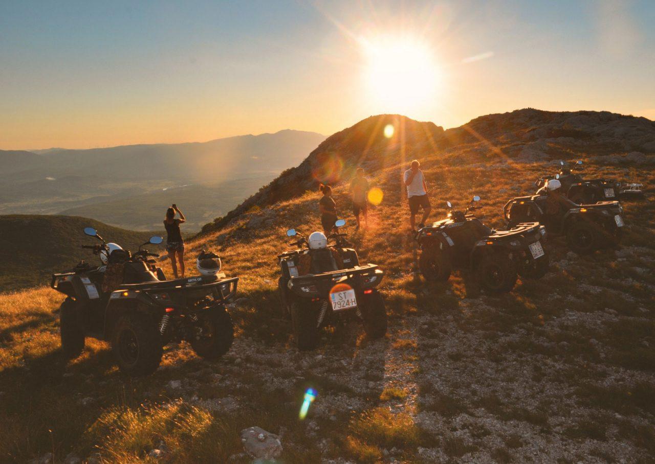 atv safari sunset croatia, the villa week, ultimate travel experience, luxury travel experience, adventure travel