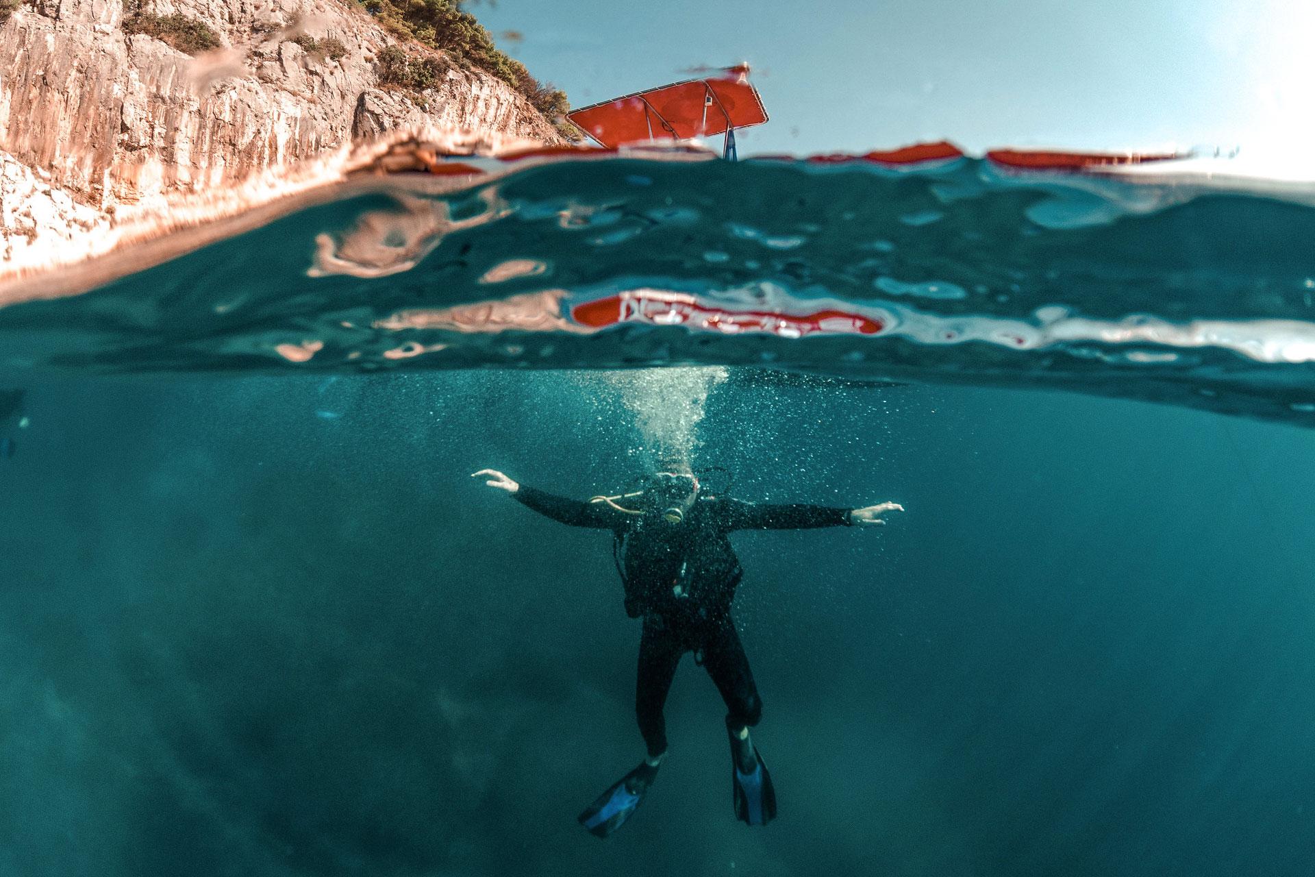 the villa week, all-inclusive holiday, luxury all-inclusive villas, scuba diving