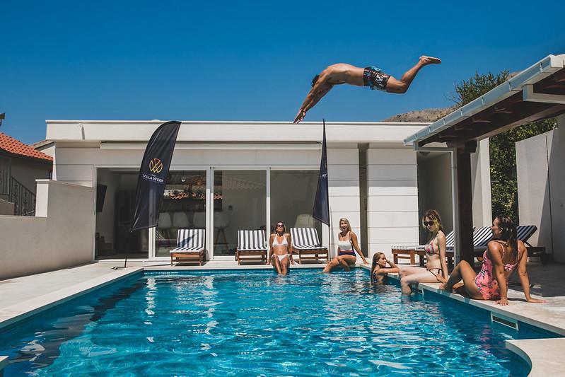 the villa week, swimming pool, villa